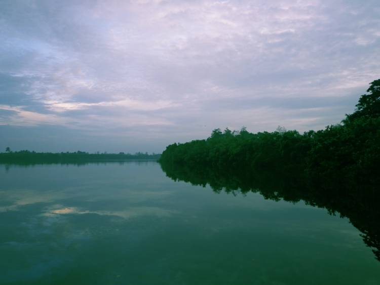 An amazing view of Madu Ganga river